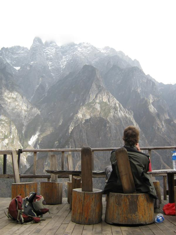 halfway of the tiger leaping gorge