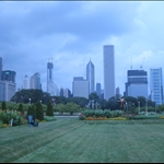 View of the city from Grant Park