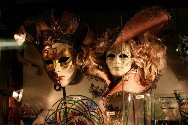 Venezia - carnival masks