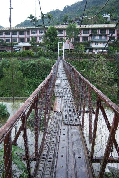 HANGING BRIDGE, BANAUE