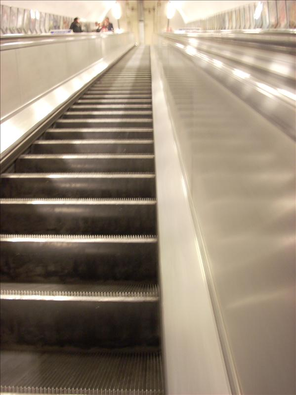 The bane of my existance...London tube escalators
