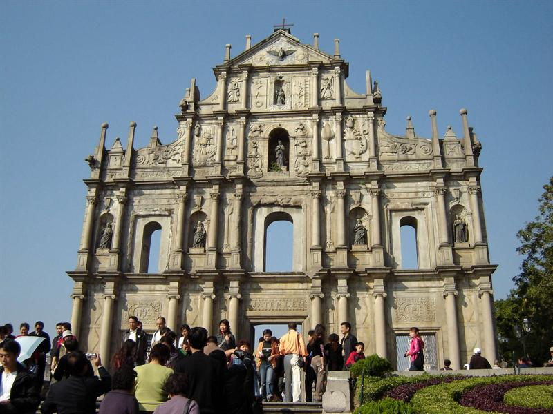 Ruins of St. Paul, Macao
