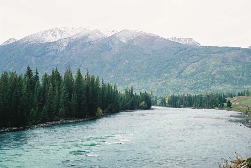 Kanas River 喀納斯河
