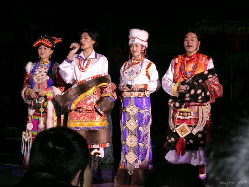 Tibet -Qiang folk dance民俗風情表演