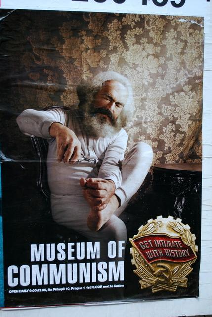 Marx trims his nails