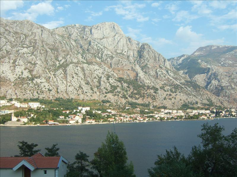 View from Hotel Bokeljski Dvori, Prcanj