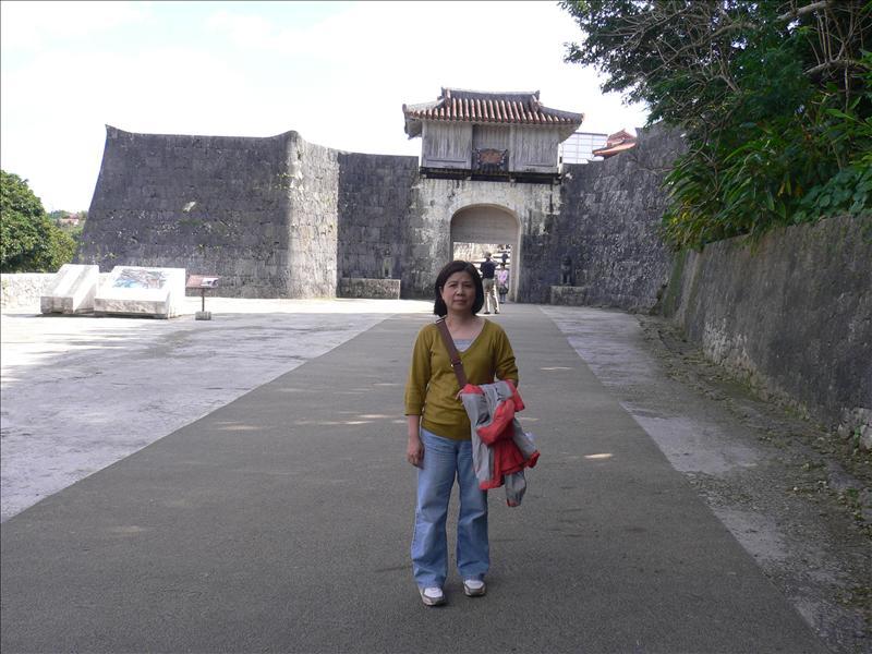 首里城入口:歡會門