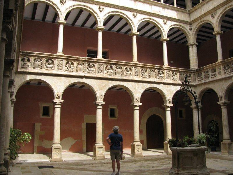 ... before visiting the royal colleges at Tortosa, both old...