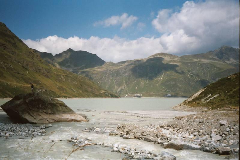 Silvretta Reservoir - Ischgl