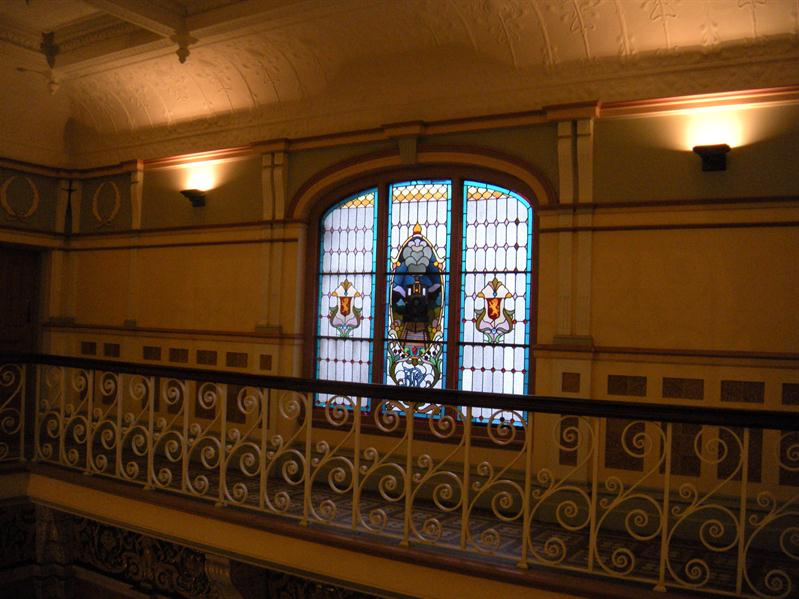 Balcony at Dunedin Station