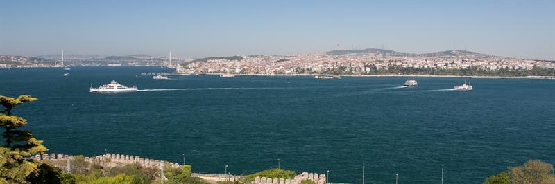 View from Topkapı Palace