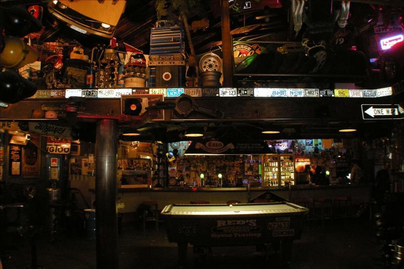 Some weird pub (Hobart)