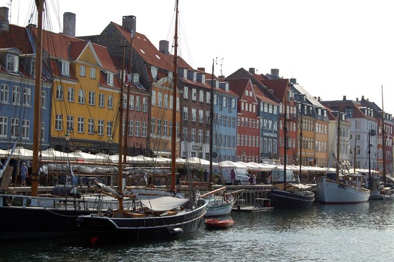 The harbor! We found it! Copenhagen