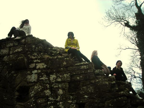Brooklynn, Manda, Becky and I