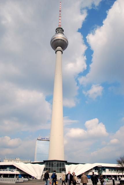 The amazing TV Tower or Fernsehturm