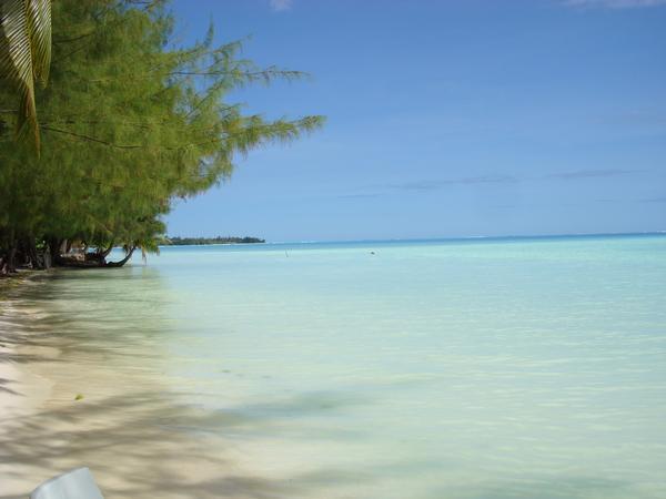 Motu (small island) near Bora Bora