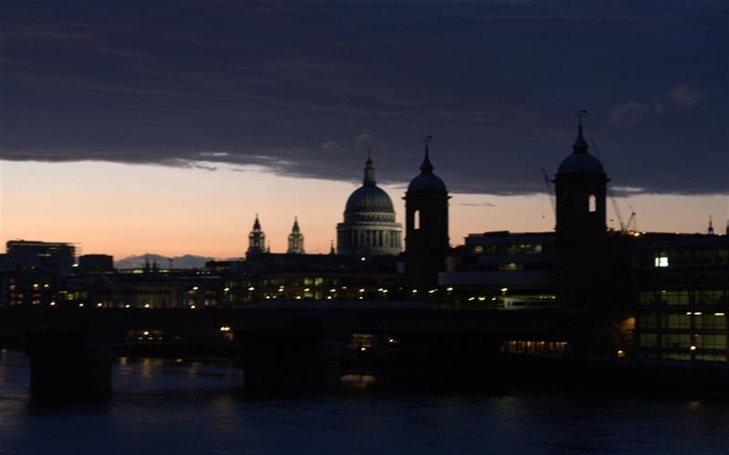 St Paul's Cathedral, Thames, London, United Kingdom