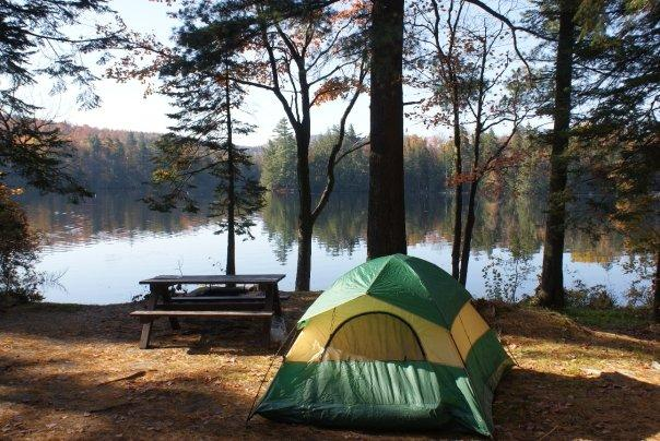 Campsite - 8th Lake, the Adirondacks, NY