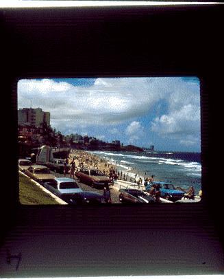 Playa con hotel Meridien