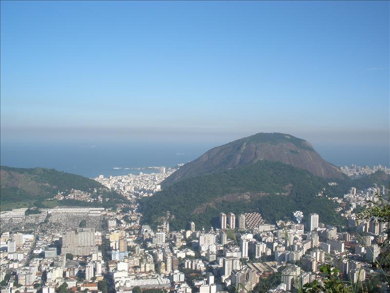rio from the corcovado