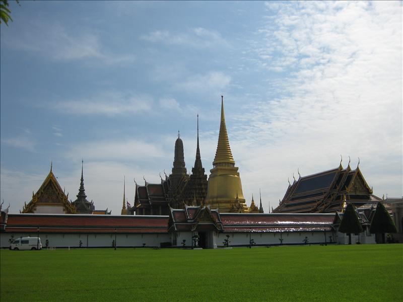 Bangkok, Wat Phra Kaeo and Grand Palace