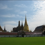 Bangkok, Wat Phra Kaeo and Grand Palace