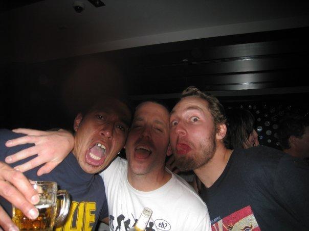 Alan, Cory and Hanis