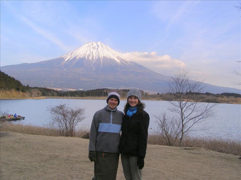 Audrey•Aline•Fujisan•Lake Tanuki