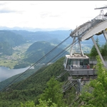 "A ""high"" day in Bohinja going on the gondola ...."