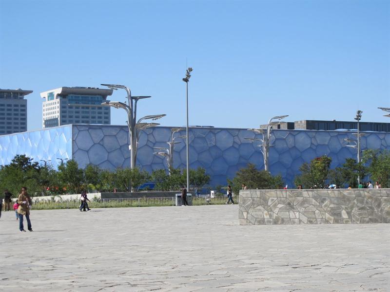 """Water Cube"" - Olympic Swimming Pool (水立方)"