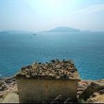 歌連臣軍事探射台望向清水灣半島及東龍島一帶