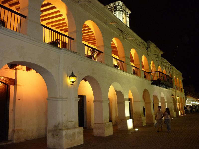 Salta's main Plaza...