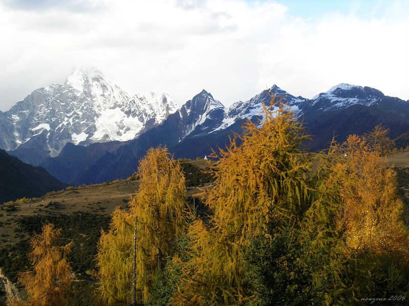 Mountain  Four Sisters (Siguniangshan) 四姑娘山