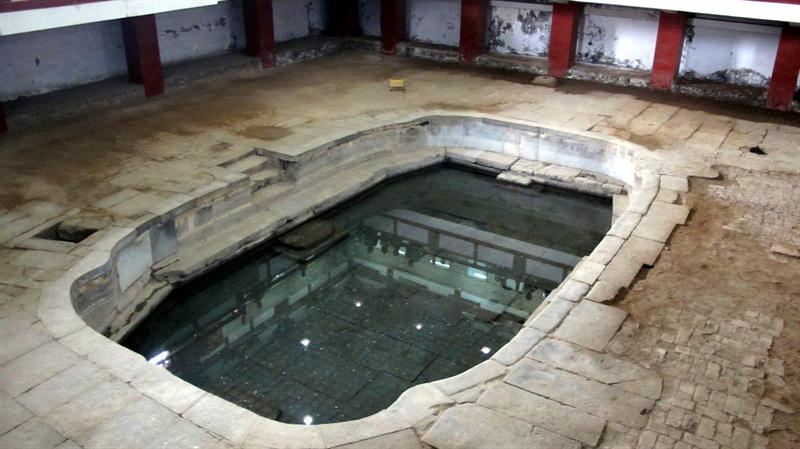 site of pools