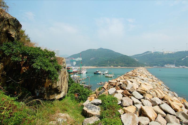 香港仔避風塘防波堤