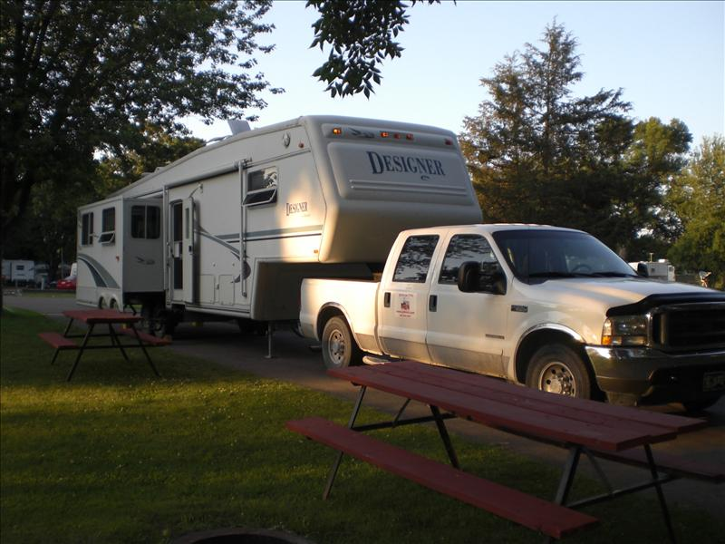 """The """"Big Rig"""" & our house on wheels!"""