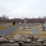 1 of the many cemeteries