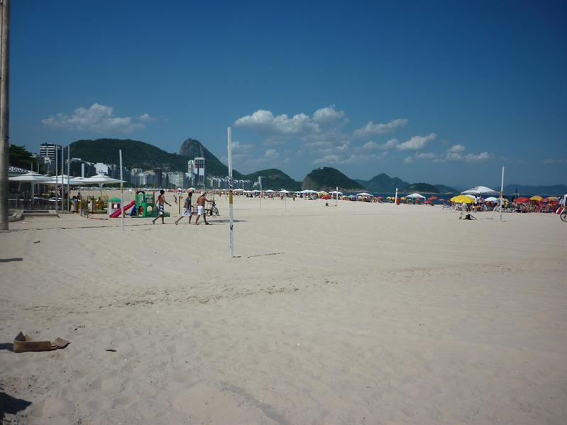 At the Copa, Copacabana...