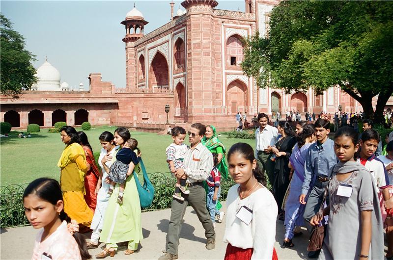 The Great gate (Darwaza-i rauza)—gateway to the Taj Mahal