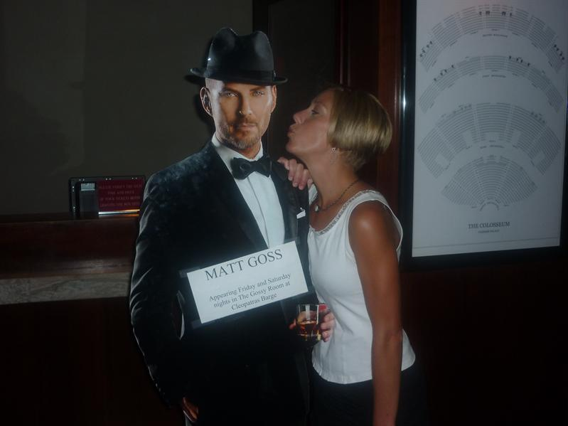 Bumping into Matt Goss...