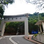 穿過中文大學上大埔公路