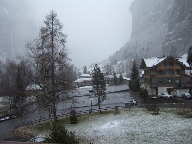 View from Hotel Staubach, Lauterbrunnen