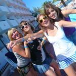 Les poufinas à Ibiza & Barna '10