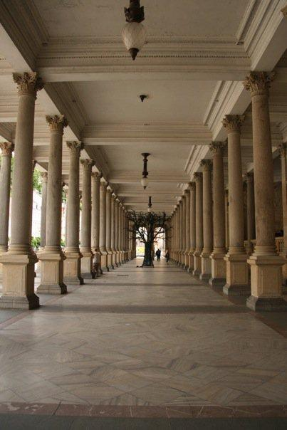 Inside the Mill Colonnade