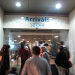 18.50 - Arrival at Mumbai Airport (Santa Cruz  Domestic Airport)
