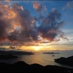 20100731日出上洋山 Sunrise at Sheung Yeung Shan