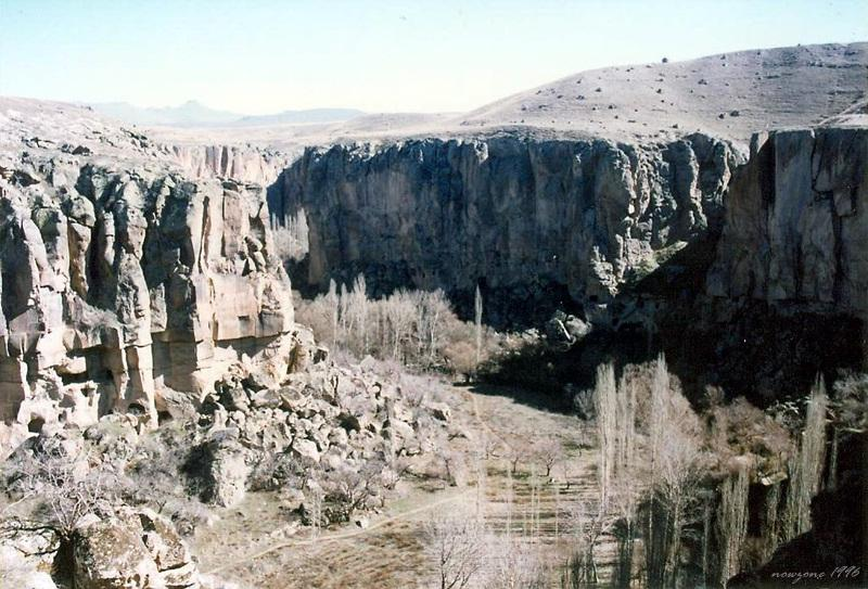 Ihlara valley 木山谷