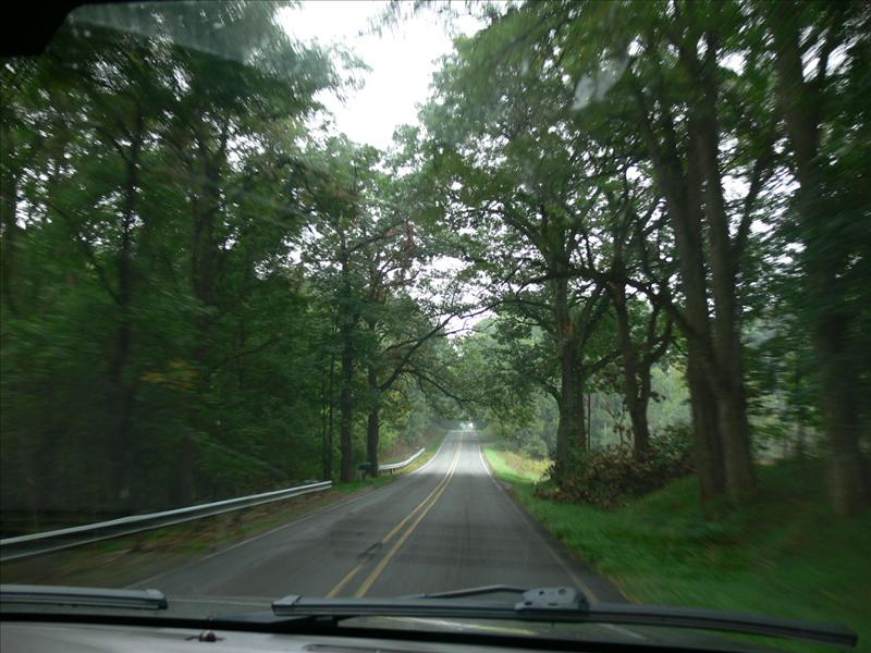On the back roads of Jackson county
