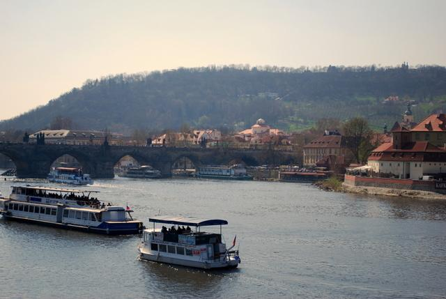 Down to Charles Bridge