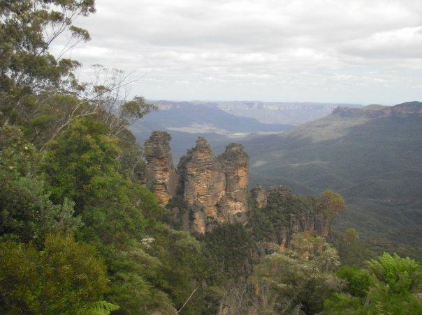 Blue Mountains, Sydney. Yes, I have done something touristy at last!!